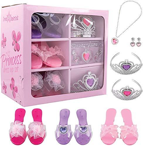 Dress Up America Vestire Bambini Primo Set Accessorio per Principessa, Colore Rosa, 950