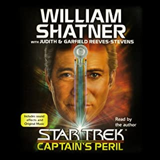 Star Trek: Captain's Peril audiobook cover art
