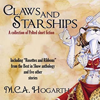 Claws and Starships audiobook cover art