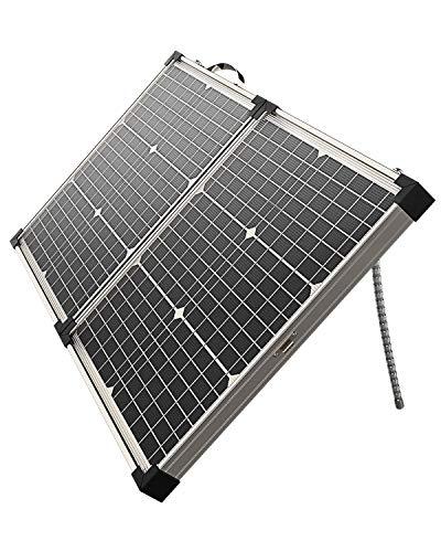 ALLPOWERS 40 Watt 12 Volt Monokristallin Solarpanel Faltbar Tragbar Solarzelle mit Wasserdichtem Ladegerät von 12V Batterien Wohnmobil Garten Camper Boot