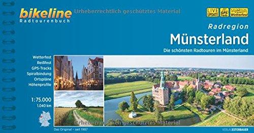 Bikeline Radtourenbuch, Radatlas Münsterland: Ein original bikeline-Radtourenbuch und Karte 1:75.000, wetterfest/reißfest