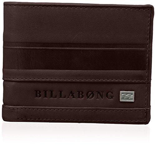 Billabong Phoenix - Monederos para Hombre, Color Orange (Chocolate), Talla única