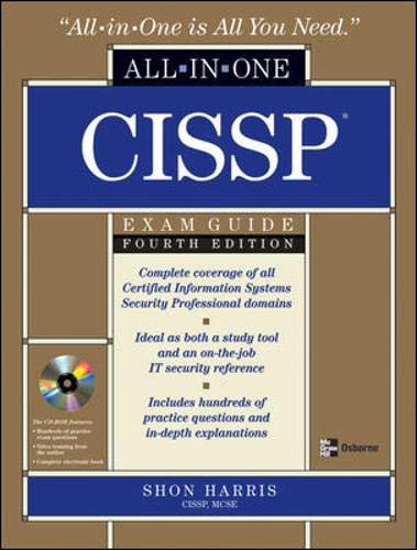 CISSP Certification All-in-One Exam Guide, Fourth Edition