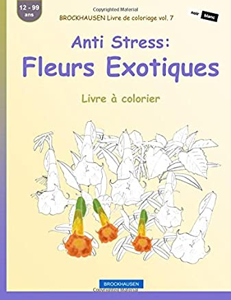 Brockhausen Livre De Coloriage Vol 7 Anti Stress Fleurs