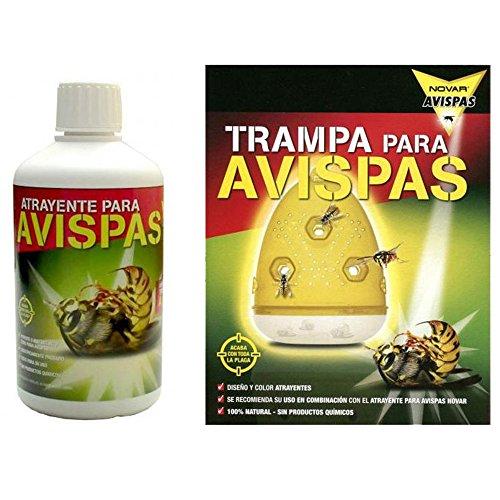 Kit para Matar Avispas Bricolemar (Trampa + Atrayente 500ml)