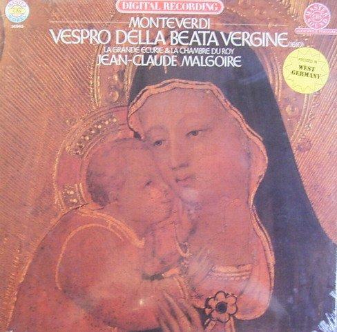 Monteverdi: Vespro della Beata Vergine [Vinyl Schallplatte] [2 LP Box-Set]