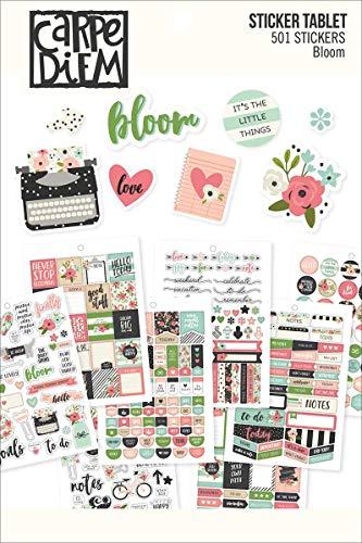 Simple Stories Bloom Sticker Tablet, Carta, Multicolore, 21x 14x 0.4cm