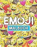 Emoji Malbuch: Spaß Emoji Buch für Kinder, Jungen, Mädchen, Jugendliche und Erwachsene. Witziges Zeug & Tolle Seitedesign.
