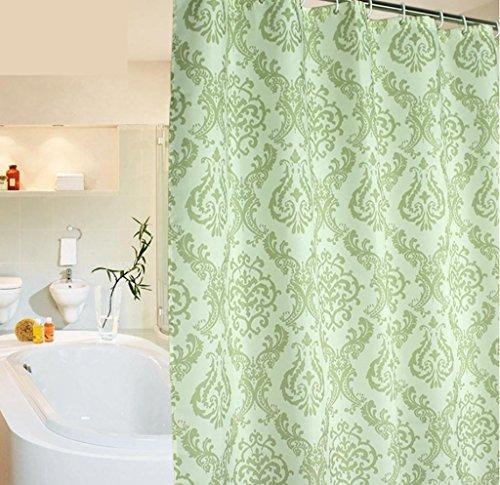 GYMNLJY Dusche Vorhang wasserdicht Mehltau Polyester Bad hängenden Vorhang Bad Duschvorhang abgeschnitten , 200*180