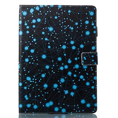 QiuKui Tab Funda For Samsung Galaxy TAB4 7,0 Pulgadas, Moda Tableta representan Casos Imprimir tirón del Cuero de la PU de la Cubierta for la Galaxia T230 T231 T235 (Color : 9)