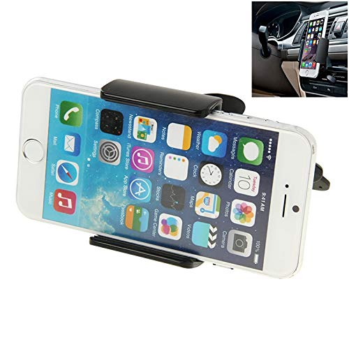 TDD AYS 2 in 1 360 Degrees Roterende Car Mobile Phone Holder Installatie op het voertuig CD-speler Disk Slot Tablet houder Stand Mount, for i Phone, Galaxy, Sony, Lenovo, HTC, Huawei en andere Smartph
