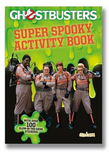 Ghostbusters Movie: Glow in the Dark Sticker Book
