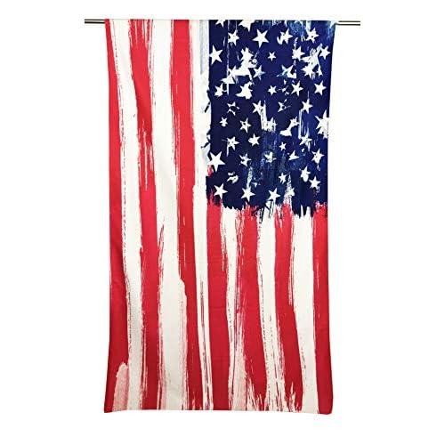 Tex family Telo Mare in Spugna Bandiera Americana Misura Grande cm. 90 X 170