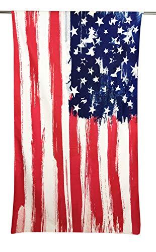 tex family Telo Mare in Spugna Bandiera Americana...