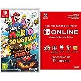 Super Mario 3D World + Bowser's Fury (Nintendo Switch) + Nintendo Switch Online - 12 Meses (Código de descarga)