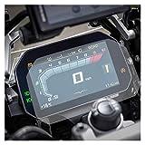 XIAOZHIWEN 2 Juegos de Motos TPU Instrumento de protección del velocímetro de la película for BMW S1000RR S1000XR 2020 2019 2020 S1000 RR XR (Color : Transparent)