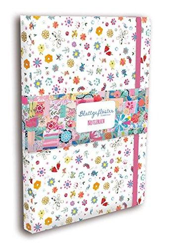 Blattgeflüster Patchwork Design Notizbuch