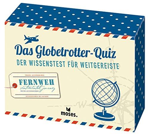 Das Globetrotter-Quiz: Der Wissenstest für Weitgereiste   Riesen-Weltkarte als Kartenrückseiten-Puzzle