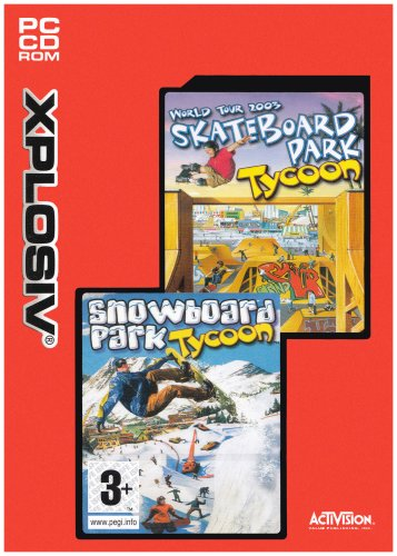 Snowboard Park Tycoon and Skate Park Tycoon Word Tour 2003 - Double Pack [UK Import]