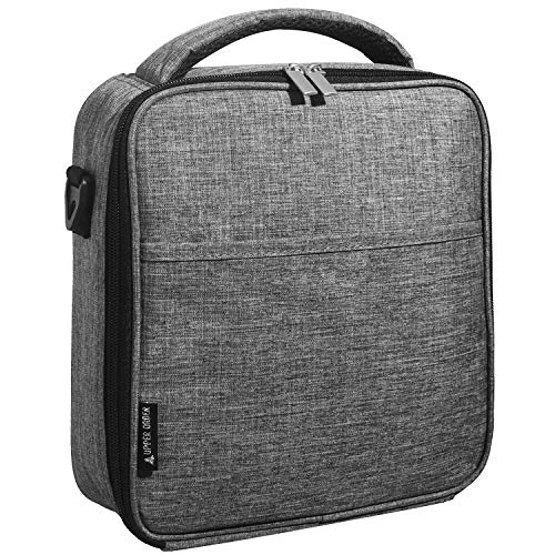 UPPER ORDER Durable Insulated Lunch Box Tote Reusable Cooler Bag 25 Percent Larger Storage