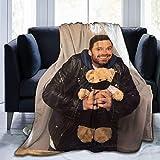 Jared Padalecki Super Sam Winchester Natural Jensen Ackles Dean Winchester Misha Collins manta súper suave, manta de felpa ligera, apta para adultos y niños para usar 50 x 60 pulgadas