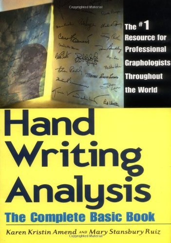 Handwriting Analysis: The Complete Basic Book