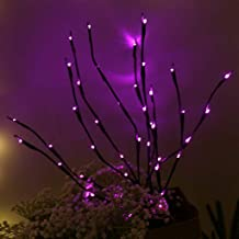 Fine 30Inches LED Willow Branch Lamp,Led Branches Battery Powered Decorative Lights Tree Branch Lamp Floral Lights 20 Bulbs Home Christmas Party Garden Decor