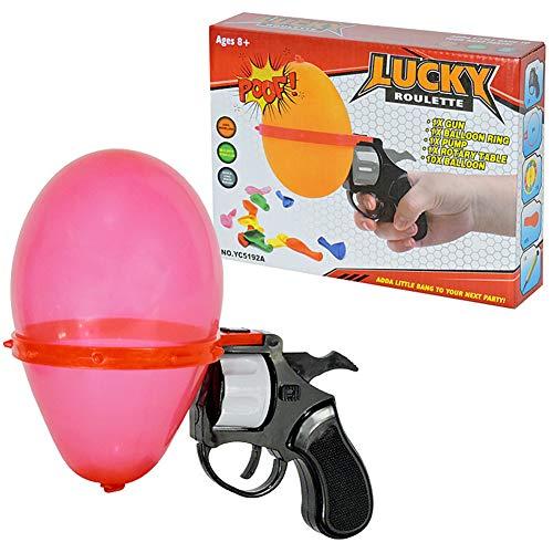 BOLLAER Russian Roulette Balloon Gun, Russian Roulette Balloon Party, Spoof Water Polo Party Interactive Adult Games