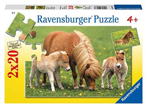 Ravensburger 09173 – Poneys Jolie 2 x 20 pièces Puzzle