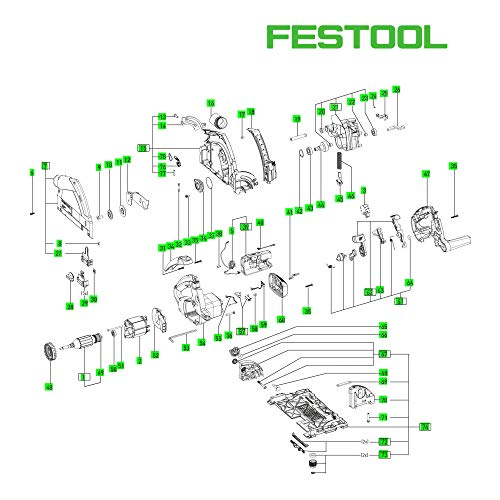FESTOOL Einlage SYS-PS 300 E - 700841