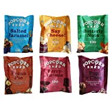 Gourmet Popcorn Snack - 6 erlesene Sorten - Das perfekte Popcorn-Geschenk -