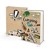 Petit livre journal intime Carnet de Voyage Relax Voyage Voyage Camping Caravane Camper Camping de bus comme Guitare Stylex Carnet Carnet DIN A5Couverture rigide cadeau