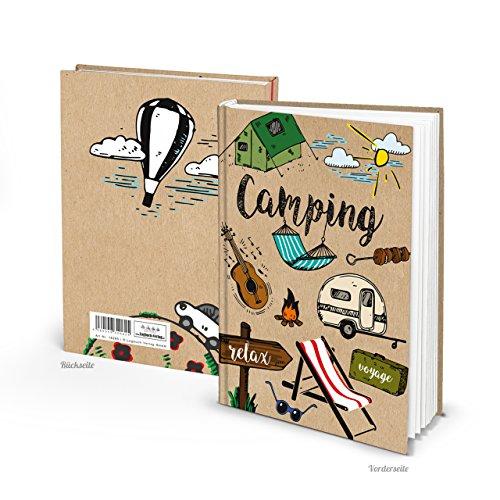Petit livre journal intime Carnet de Voyage Relax Voyage Voyage Camping Caravane...