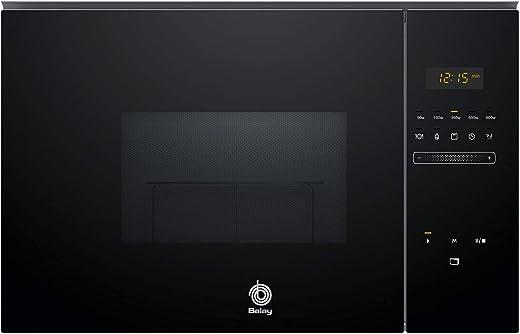 Balay 3CG5172N0 - Microondas Integrable, Capacidad 20L, 800W, Con Grill, Color Negro
