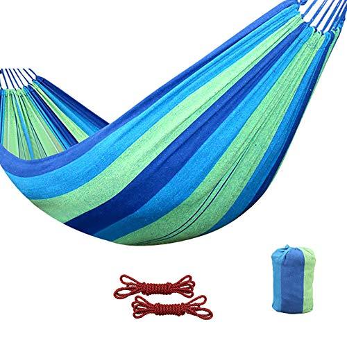Reishangmat Enkele Draagbare Camping Hangmat Buiten Hangmat Schommel, Eenvoudige Montage Kun 150 Kg Dragen,Green
