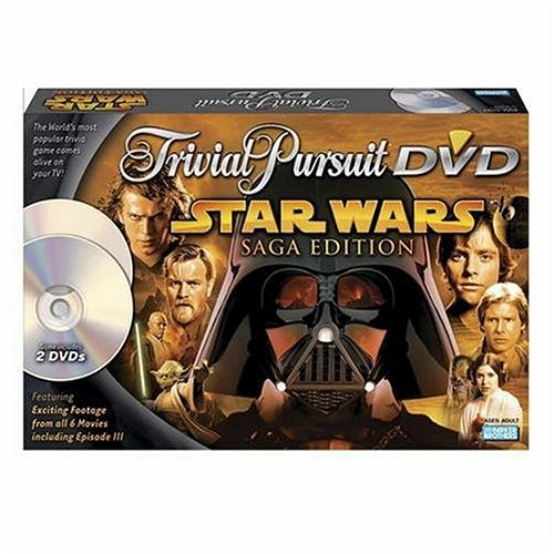 Trivial Pursuit Dvd Star Wars by Hasbro