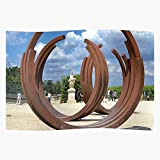 Fsgawards Unique Views Sculptures Corten Modern Versailles