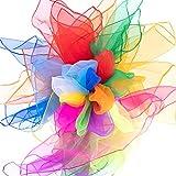 Mister M Pañuelos de Malabares   20 Telas de Colores 60x60cm   Pañuelos de Baile   Diseñados por el premiado Artista Callejero Fiestas Infantiles y Juegos Malabares   Incluye Material de vídeo Online