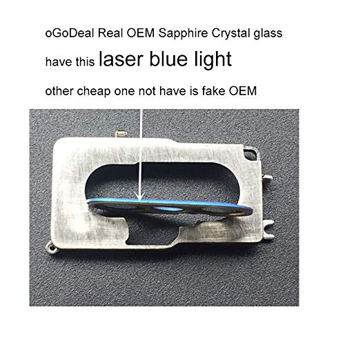 oGoDeal OEM Rear Back Camera Glass Lens Cover Replacement for iPhone 8 Plus and iPhone 7 Plus Original with Adhesive and Repair Tools