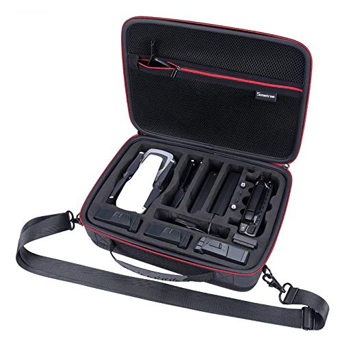 Smatree Funda de Transporte Compatible con DJI Mavic Air, DA500 Bolsa de viaje para DJI Mavic Air Fly More Combo (No para Mavic Pro / Mavic Platinum / Mavic Air 2)
