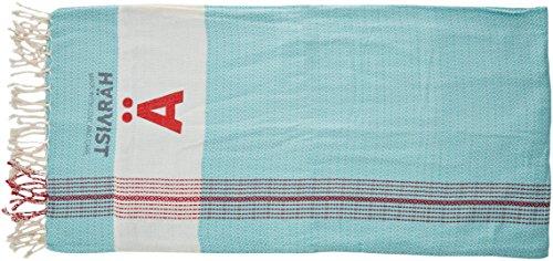 HÄRVIST Htcpvr, Pareo Toalla con Bolso Para Mujer, Multicolor (Verde/Rojo), Talla Única