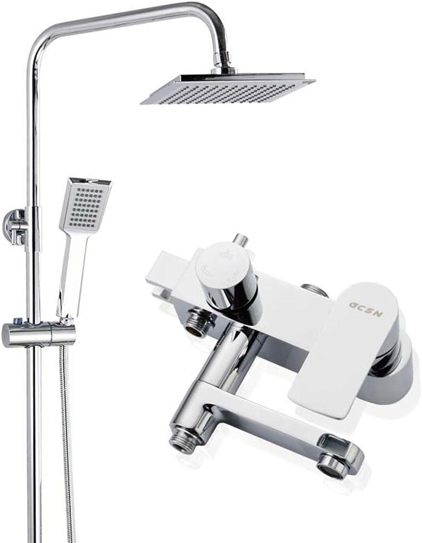 Dusche Set Hei und Kalt Bidet Wasserhahn Viergang Badezimmer Set Dusche Combo Kopf Combo Dusche System für Badezimmer