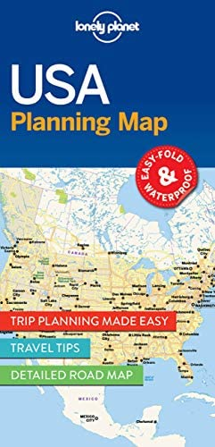 Lonely Planet USA Planning Map Planning Maps product image
