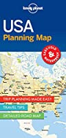 Lonely Planet USA Planning Map 1 (Planning Maps)
