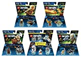 Portal 2 Level Pack + The Lord Of The Rings Legolas + Gimli + Gollum + The Legend Of Chima Cragger Fun Packs - LEGO Dimensions - Not Machine Specific