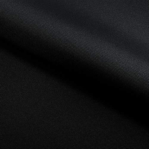 NOVELY Oxford 210D | Polyester | anschmiegsam nachgiebig | Meterware Segeltuch Farbe: 03 Schwarz S01