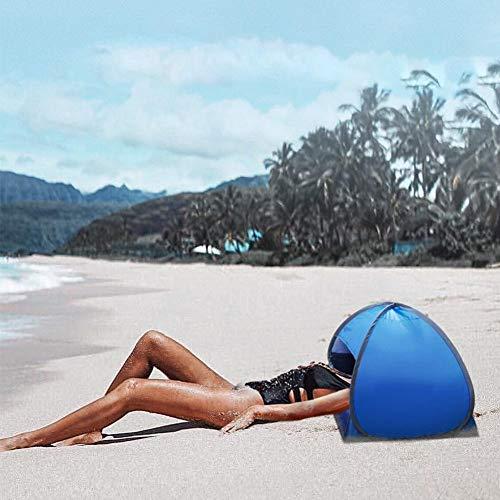 ningxiao586 Pop Up Tragbarer Mini-Sonnenschutz am Strand, tragbarer Sonnenschutz für den Kopfschutz für den persönlichen Sonnenschutz