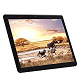 Android Tablette Tactile 10 Pouces(10.1') - (Wi-FI, Octa-Core Processor, 64 Go, 4 Go de RAM, 1280*800 IPS, Android 7.0 Phablet, 3G Dual Sim Card,Cameras,Bluetooth,GPS,Google Tablets PC) (Black)