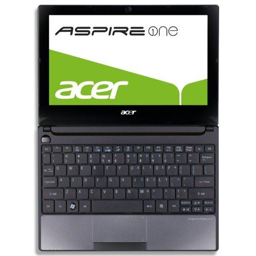 Acer Aspire one 522 25,7 cm (10,1 Zoll) Netbook (AMD C-50, 1GHz, 1GB RAM, 250GB HDD, ATI HD 6250, Bluetooth, Win7 Starter) schwarz
