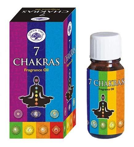 Green Tree 7 Chakras - Aceite esencial (10 ml) - BIENESTAR